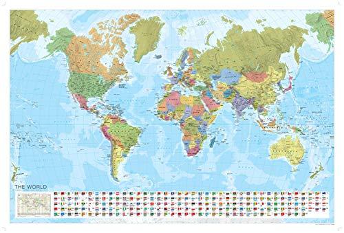 World Political Map (Marco Polo Maps) (Mundi Map)