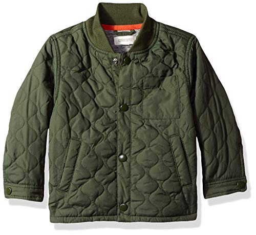 (Gymboree Boys' Big Field Jacket, Olive Pockets, 2T)