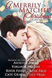 img - for A Merrily Matched Christmas book / textbook / text book