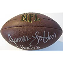 James Lofton, Buffalo Bills, Green Bay Packers,Raiders, Signed, Autographed, NFL Football, a Coa with the Proof Photo of James Signing Will Be Included