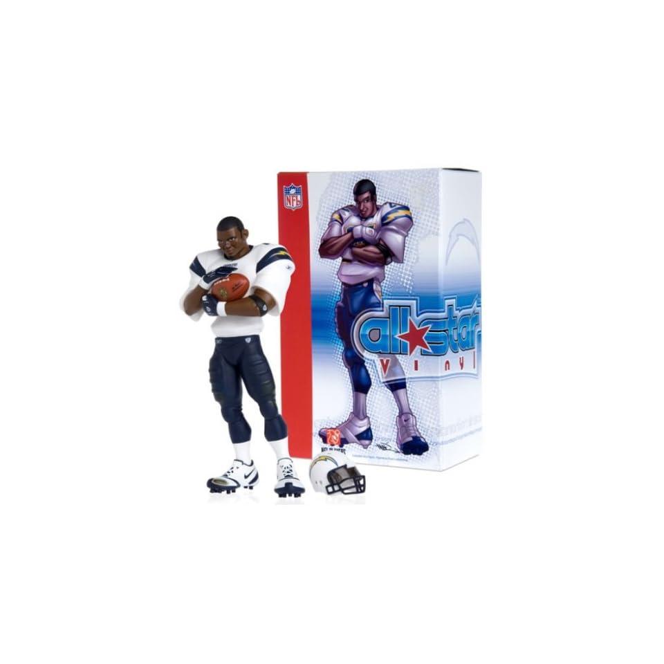 Upper Deck San Diego Chargers   LaDainian Tomlinson NFL All Star Vinyl (Away White Uniform)
