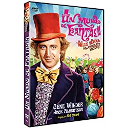 Un Mundo de Fantasía 1971 Willy Wonka and the Chocolate Factory [Non-usa Format: Pal -Import- Spain ]