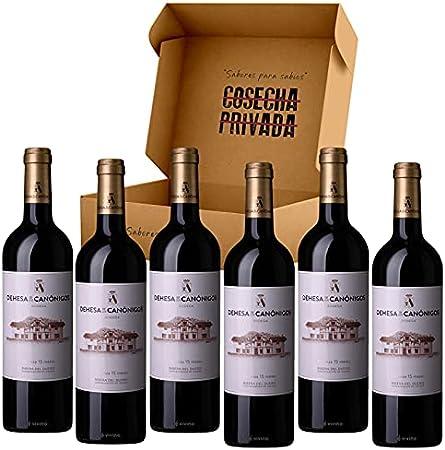Dehesa de los Canónigos - 6 Botellas - Vino Tinto - Ribera del Duero - Enviado y seleccionado por Cosecha Privada