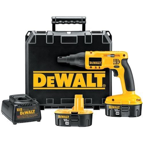DEWALT DC520KA 18-Volt NiCd Cordless Drywall/Deck Screwdriver Kit by DEWALT