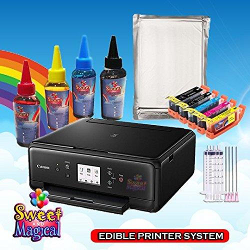 ULTIMATE EDIBLE PRINTER BUNDLE,PRINNTER,EDIBLE INK AND EDIBLE PAPER
