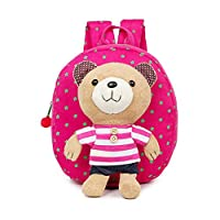 Estwell Baby Toddler Boys Girls Cute Bear Walking Safety Harness Backpack Rucksack with Reins