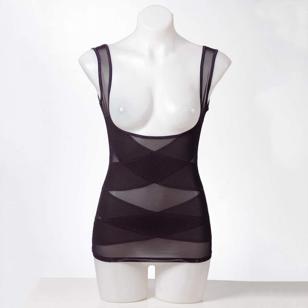 DEBRICKS Slimming Shapewear Tank Tops Body Shaper Camisole for Tummy Waist Bust and Hips