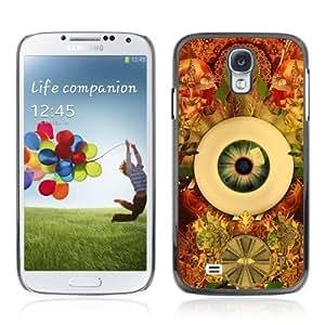 YOYOSHOP [Cool Psychedelic Eye & Pattern] Samsung Galaxy S4 Case Kimberly Kurzendoerfer
