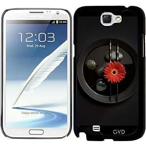 Funda para Samsung Galaxy Note 2 (GT-N7100) - Zen Negro by Andrea Haase