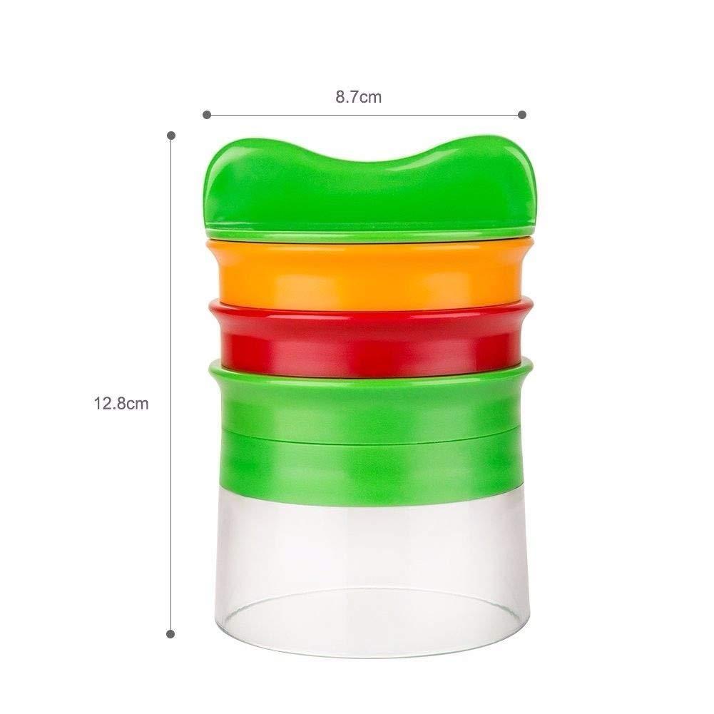 Compra nocnocc Cortador de Verduras, 3 Cuchillas Cortador en Espiral Vegetal Slicer Manual Cortador de Verduras Espaguetis Verde (3 en 1 Cortador Verduras) ...