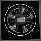 Hochleistungsventilator mit einseitigem Schutzgitter zur Wandmontage (250 mm Durchmesser) (durch Gitter blasend)