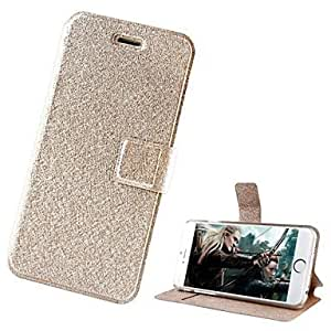 ZL Natural Silk Exquisite Flip around Full Cases with Stand for iPhone 6/4.7(Assorted Colors) , Golden