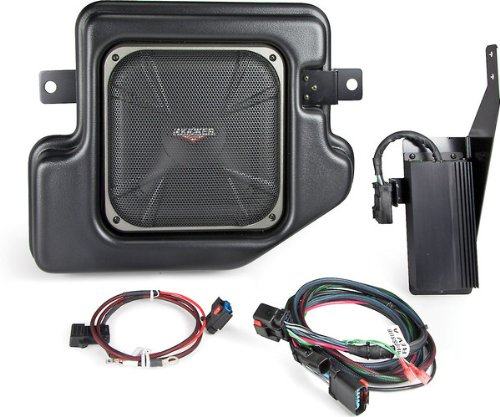 Kicker SRAMCQ09 Powered Subwoofer Upgrade Kit for 2009-2016 Dodge Ram Crew Cab or Quad Cab (Best Ram 1500 Upgrades)