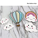 5 offset spatula - Cake Decorating Supplies - Party Gifts Cartoon Scene Decoration Cupcake Pers Dessert Table Air Balloon Rainbow Insert Card - Golf Ebook Foil Beginner Tier Lime Animals Coupler Disposable Russian