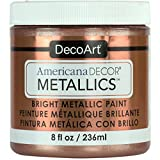 DecoArt Ameri Deco MTLC Americana Decor Metallics 8oz Rose Gold