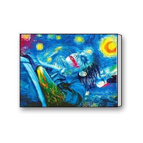 Fashion Joker Starry Night Canvas Print 16