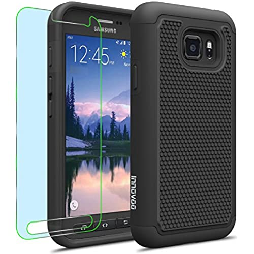 Samsung Galaxy S7 Active / G891 Case, INNOVAA Smart Grid Defender Armor Case (Not Compatible with Samsung Galaxy S7 & S7 edge) W/ Free Screen Sales