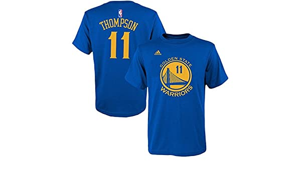 half off 7e85c 2064c Amazon.com : Klay Thompson Golden State Warriors Kid's Blue ...