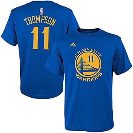 half off 0cf4a d8f4a Amazon.com : Klay Thompson Golden State Warriors Kid's Blue ...