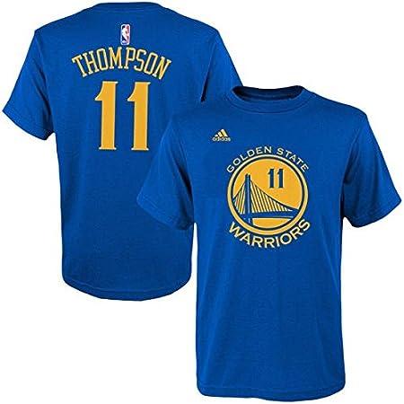 Adidas Klay Thompson Golden State Warriors Kid s Azul Jersey Nombre y número Camiseta pequeño 4: Amazon.es: Deportes y aire libre