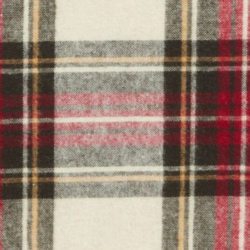 pinzon lightweight cotton flannel sheet set queen creamred plaid in the uae see prices reviews and buy in dubai abu dhabi sharjah misc