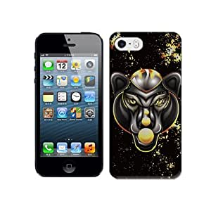 Natalie Works Creative Coolest Abstract Leopard TPU Hard Cases for iPhone 5/5S