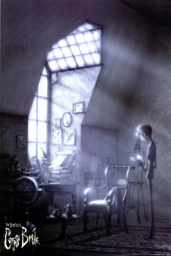 Tim Burton's Corpse Bride POSTER Movie (11 x 17 Inches - 28cm x 44cm) (2005) (Style J) (The Corpse Bride Emily)