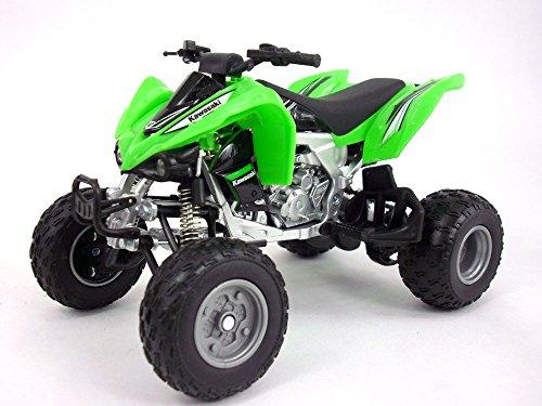 Kawasaki KFX 450R ATV (Quad Bike) 1/12 Scale Diecast Metal Model - Green