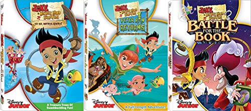 Jake and The Never Land Pirates: Disney Junior TV Series DVD Collection (Jake And Neverland Pirates Outfit)