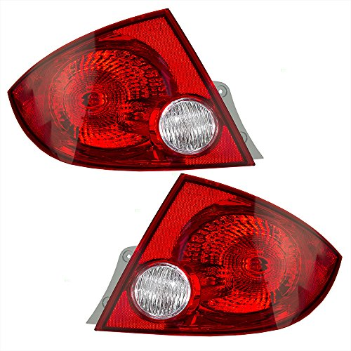 Driver and Passenger Taillights Tail Lamps Replacement for Chevrolet 25823649 25823650 AutoAndArt ()