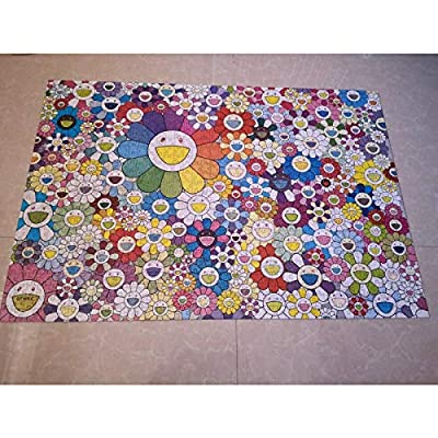 Takashi Murakami Rainbow Flower Puzzle 1000 Pieces in Stock: Toys & Games