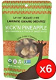Kick'n Dried Pineapple 6 pack case
