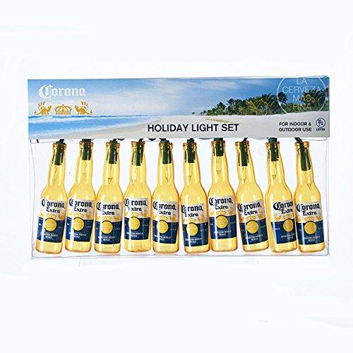 Kurt Adler 10-Light Corona Beer Bottle Light Set ()