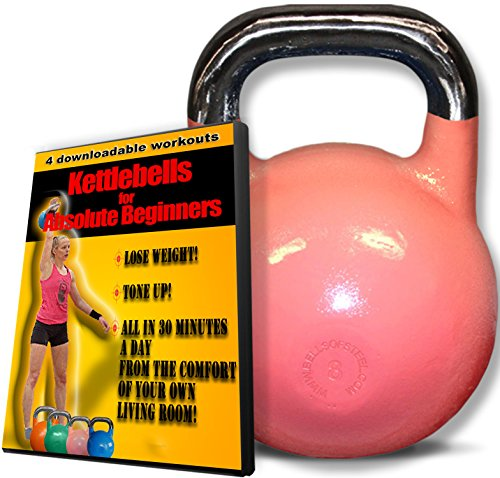 Kettlebells for Absolute Beginner Women - Tone up & Melt Fat in 20 Minutes a Day - Includes 8kg Kettlebell and 4 Part Workout Video