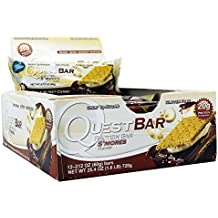 Quest Nutrition Protein Bars - S'Mores - 2.12 oz (1-Pack of 12)