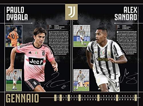Calendario Juventus 2021 Da Parete Calendario Juventus 2021 cm 44x33   prodotto ufficiale: Amazon.it