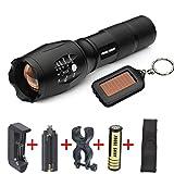 flashlight, 5000lm Cree XM-L LED G700 X800 Tactical Flashlight...