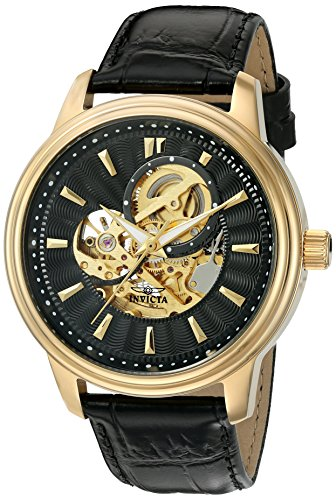 Invicta Men's 22578 Vintage Analog Display Automatic Self Wind Black Watch ()