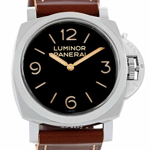 Officine Panerai Luminor mechanical-hand-wind mens Watch PAM00372 (Certified Pre-owned)