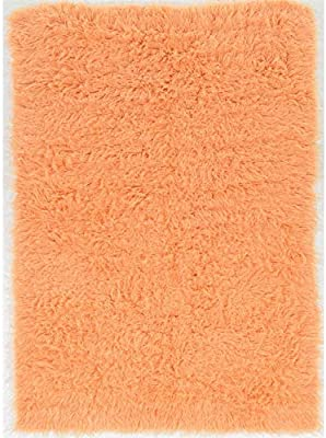 Amazon Com Super Area Rugs Hand Woven Soft Wool Flokati