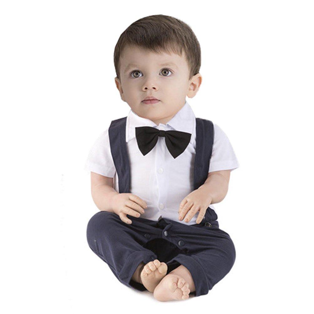 ARAUS Mono Pelele Niños Conjunto de Una Pieza Bautismo para Bebé Verano Boda Banquete Noche, 3-18 Meses: Amazon.es: Ropa y accesorios