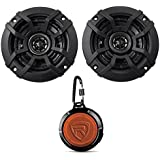 (2) KICKER 43CSC44 4 300w 4-Ohm Car Audio Coaxial Speakers CSC44+Speaker!