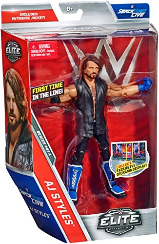 Wwe Elite Collection Aj Styles Action Figure Buy Online