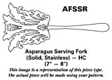 Volf Flatware Palace (Stainless) Asparagus Serving Fork Solid Stainless HC