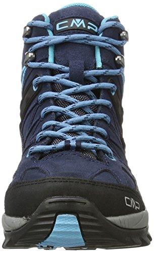 B Scarpe Donna blue Alta clorophilla Arrampicata Mid Blu da Rigel WP CMP wtCx7qzqf