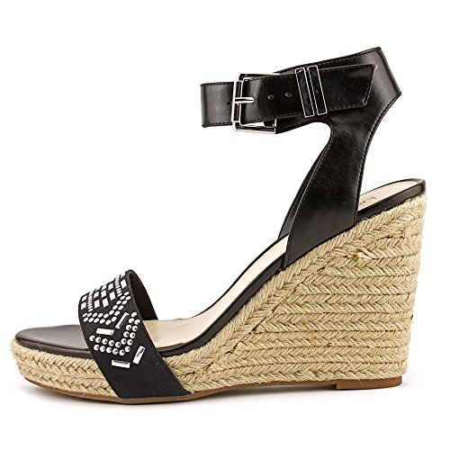 Casual Black Toe III Sandals Espadrille Open Bar Athena Womens XZ8q6C
