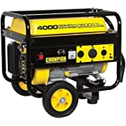 New Champion 4000 watt Gas Portable Gasoline Generator w/ wheel kit B46517