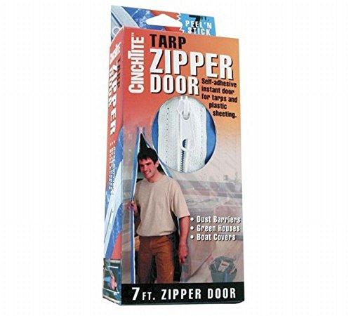 Cinch Tite Tarp Zipper Door Plastic -