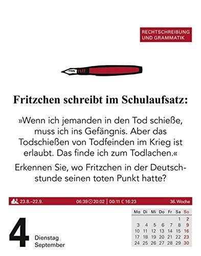Duden Auf Gut Deutsch Kalender 2018 Rechtschreibung Grammatik