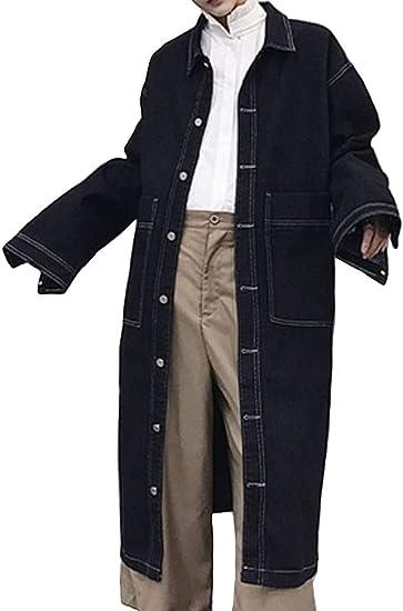 Heaven Days(ヘブンデイズ ) コート ステンカラーコート 春秋 ジャケット スプリングコート カジュアル ビジネス ロング丈 デニム メンズ 1910C0641